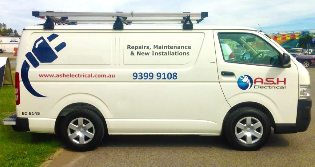 Ash-Electrical-About-Us-Van